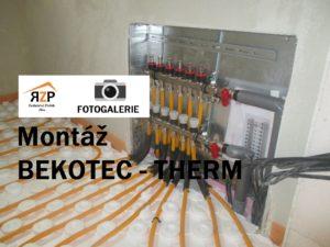 Montáž BEKOTEC-THERM
