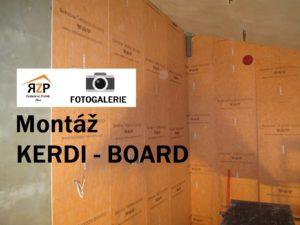 Montáž KERDI-BOARD