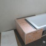 Podezdění vany z KRDI-BOARD