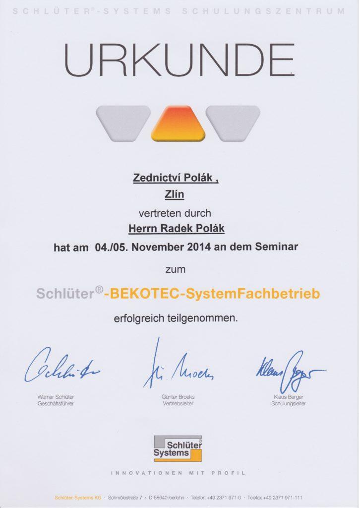 Schlüter Bekotec-Therm