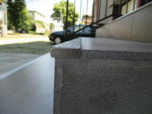 Ukončení schodové lišty