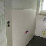 Velkoformátový obklad – jedna stěna dvě spáry