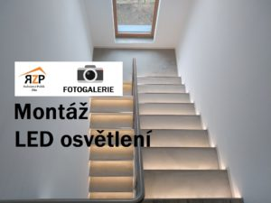 Montáž LED osvětlení