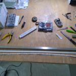 Příprava LED pásků a difuzoru