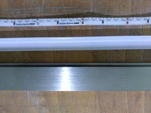 Ukázka LED pádku a profilu